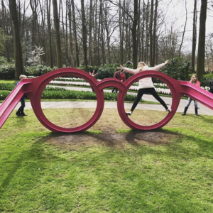 glasses sculpture lavieenrose keukenhof